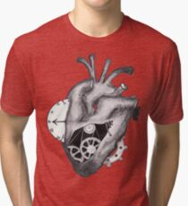 A clockwork Heart Tri-blend T-Shirt