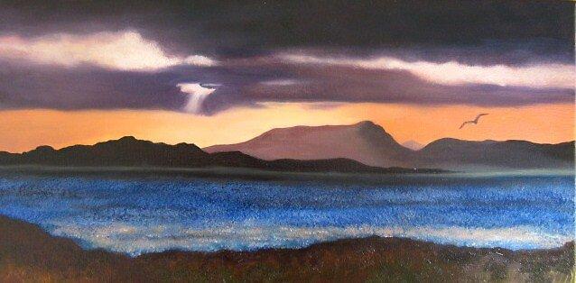 Sunset on Bantry Bay by GypsyCanadian