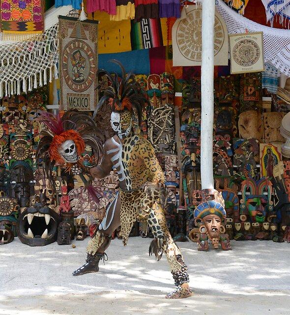 Mayan Indian by Klaus Bohn