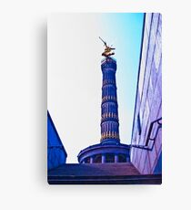 """""""Golden Else"""" Tower of Victory Canvas Print"""