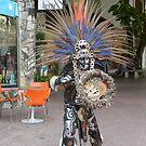Mayan dancer by Klaus Bohn