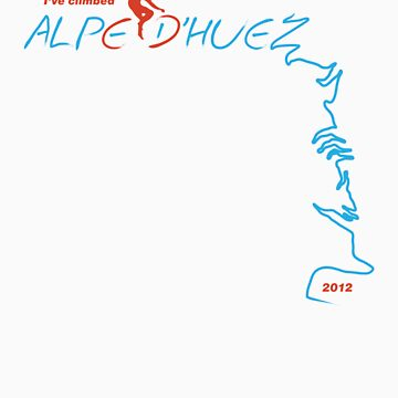 I've climbed Alpe D'Huez - 2012 by lukefarrugia