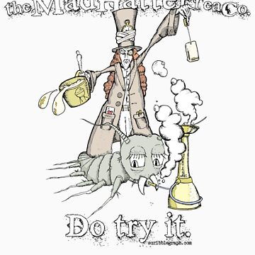 Mad Hatter Tea Co. by scribblegraph