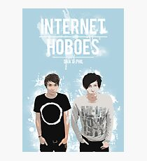 Dan & Phil - Blue Photographic Print