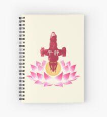 Serenity in Bloom Spiral Notebook