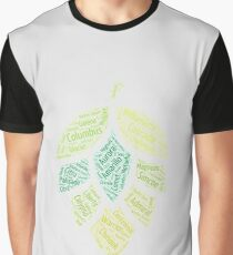 Hop Varietals Graphic T-Shirt