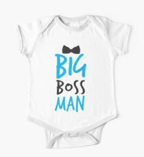 Big Boss Man with bow tie Kids Clothes