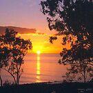 Sun setting over Hervey Bay by georgieboy98