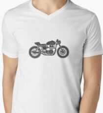Triumph Bonneville - Cafe racer Men's V-Neck T-Shirt