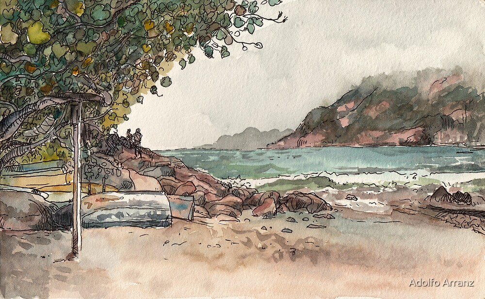 Shek O Beach by Adolfo Arranz