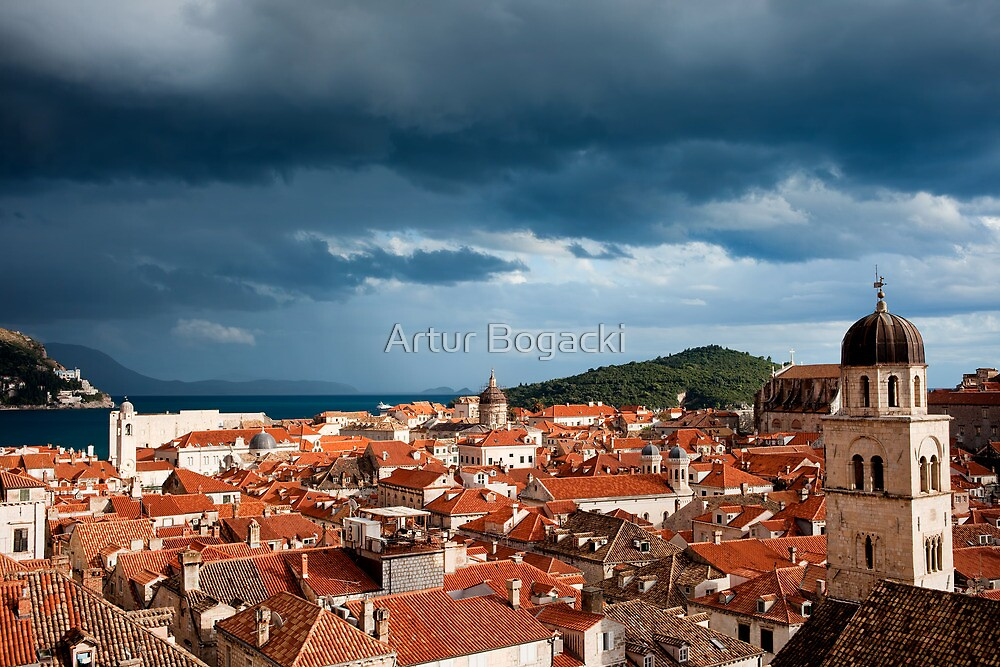 Dubrovnik Old City by Artur Bogacki