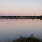 Lake at dusk 2 by Jack Bridges