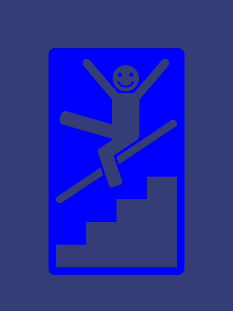 It is compulsory to slide down banisters by Alibarbarella