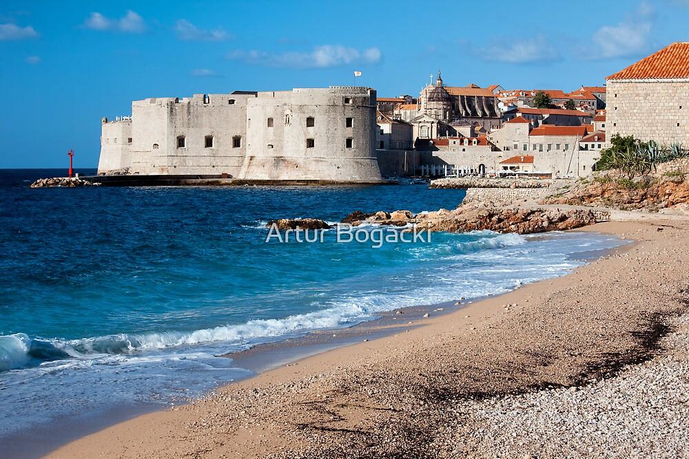 Dubrovnik Beach by Artur Bogacki