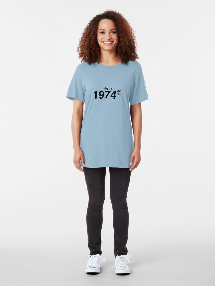 Alternate view of 1974 Slim Fit T-Shirt