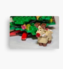 Red Nose Reindeer Canvas Print