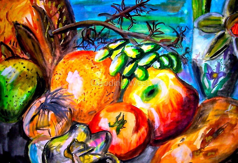 FRUIT  by Claudine West
