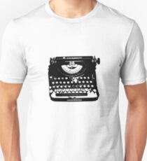 Jack Kerouac Typewriter Unisex T-Shirt