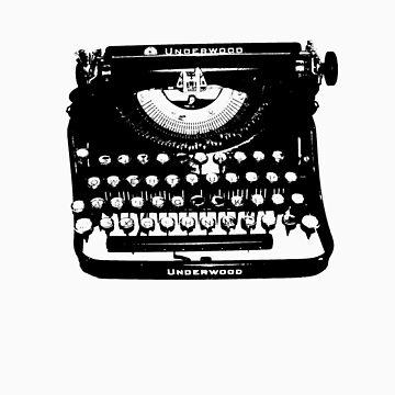 Jack Kerouac Typewriter by kerouac