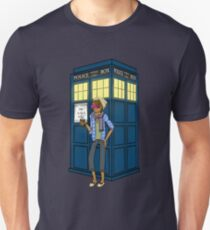 The Hipsters Have the Phonebox! Slim Fit T-Shirt