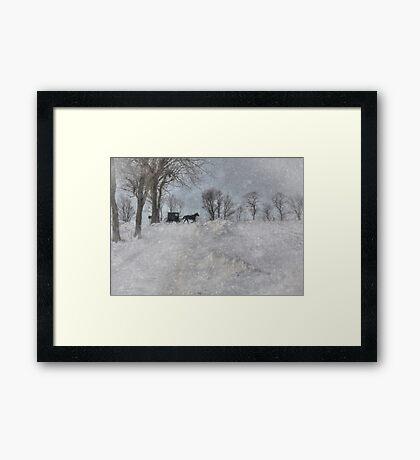 Happy New Year! Framed Print