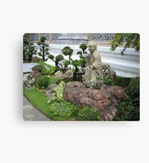 Buddhist Garden Canvas Print