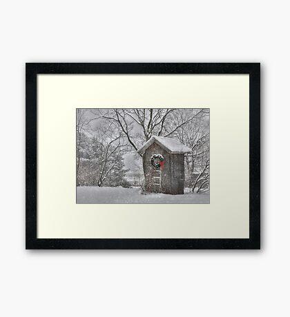Cold Seat Framed Print