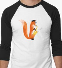 Jazzy Fox Men's Baseball ¾ T-Shirt