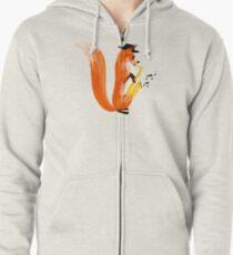 Jazzy Fox Zipped Hoodie