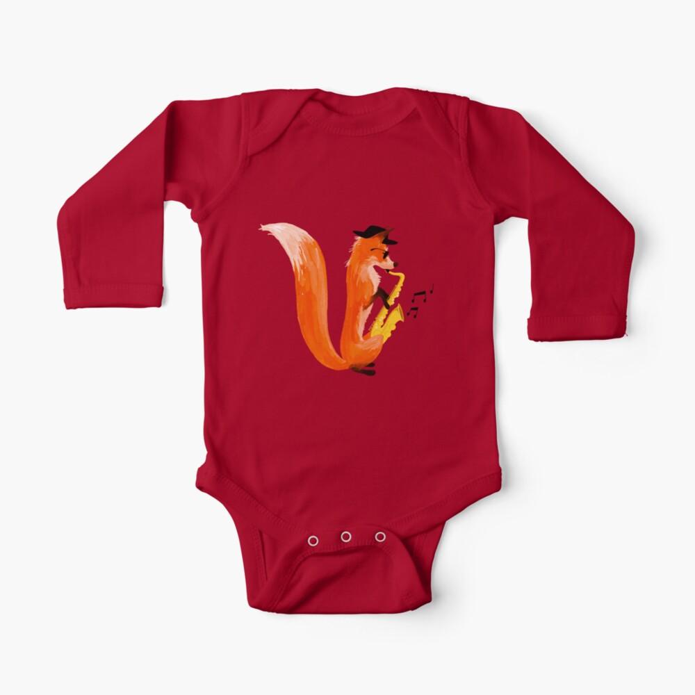 Jazzy Fox Baby One-Piece