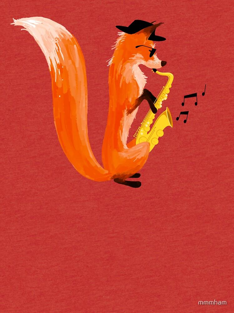 Jazzy Fox by mmmham