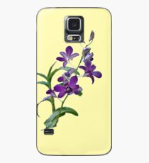Purple Cymbidium Orchids for iPhone Case/Skin for Samsung Galaxy