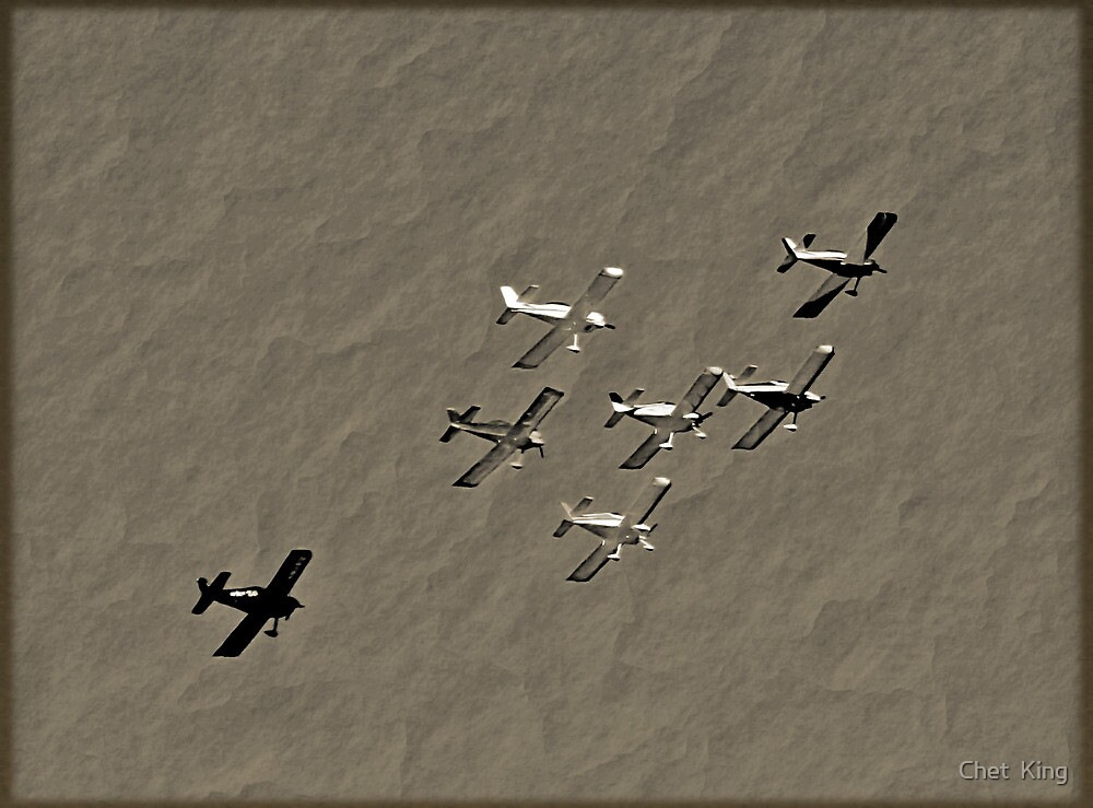 Formation Flying by Chet  King
