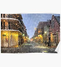 New Orleans French Quarter Louisiana Artwork Poster