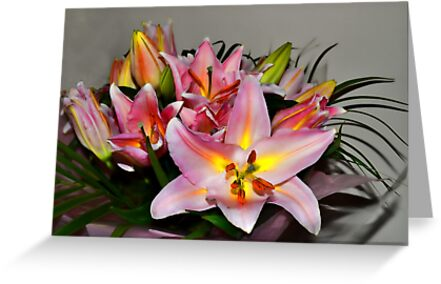 Bright Lilies by lynn carter
