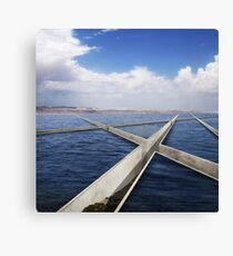 parting the red sea Canvas Print