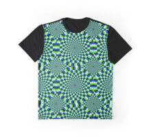Optical Illusion Graphic T-Shirt