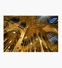 St Patrick's Cathedral - New York 2.0 Photographic Print