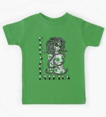 Medusa De Muertos t-shirt Kids Tee