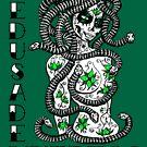 Medusa De Muertos t-shirt by rawjawbone