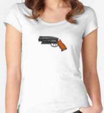 Blade Runner Gun Women's Fitted Scoop T-Shirt