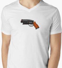 Blade Runner Gun Men's V-Neck T-Shirt