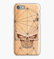 Skull for ceremony iPhone Case/Skin