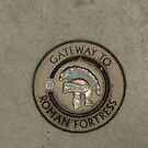 Gateway to Roman Fortress by Pawel J
