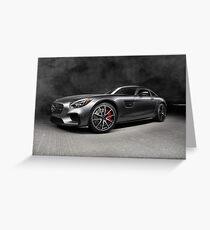 2016 Mercedes AMG GTS Greeting Card