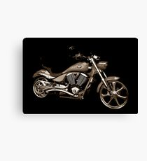 Victory Motorcycle Canvas Print