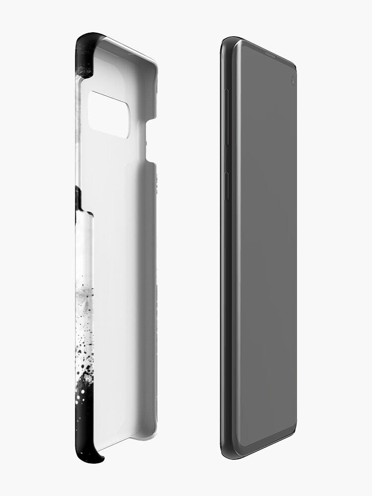 Alternate view of Midnight Desolation Case & Skin for Samsung Galaxy