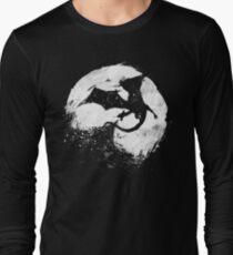 Camiseta de manga larga Desolación de medianoche