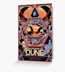 Jodorowsky's Dune Greeting Card