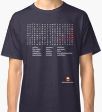 Coffee Monkey - Word Search (updated) Classic T-Shirt